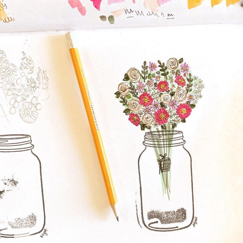 Other flower doodles to inspire you 8
