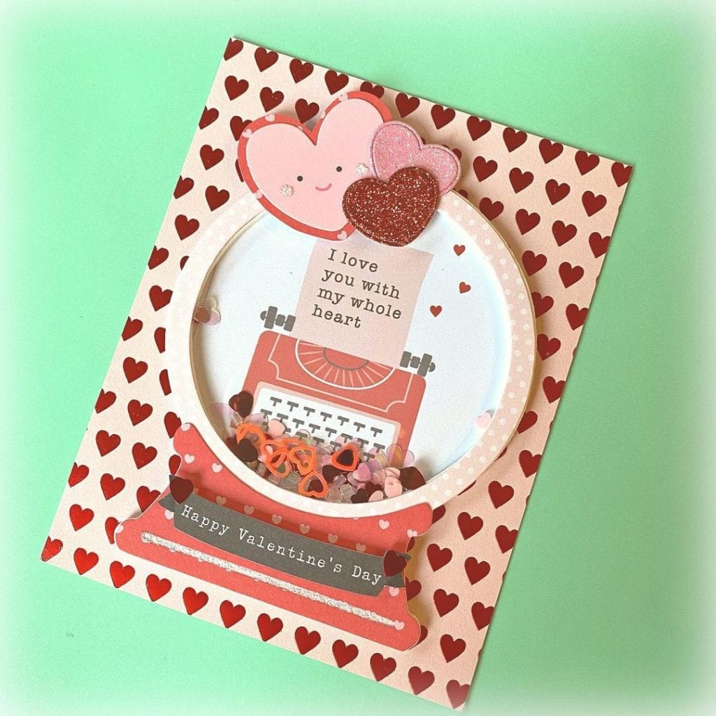 Romantic Valentine Day Handmade Cards for Him