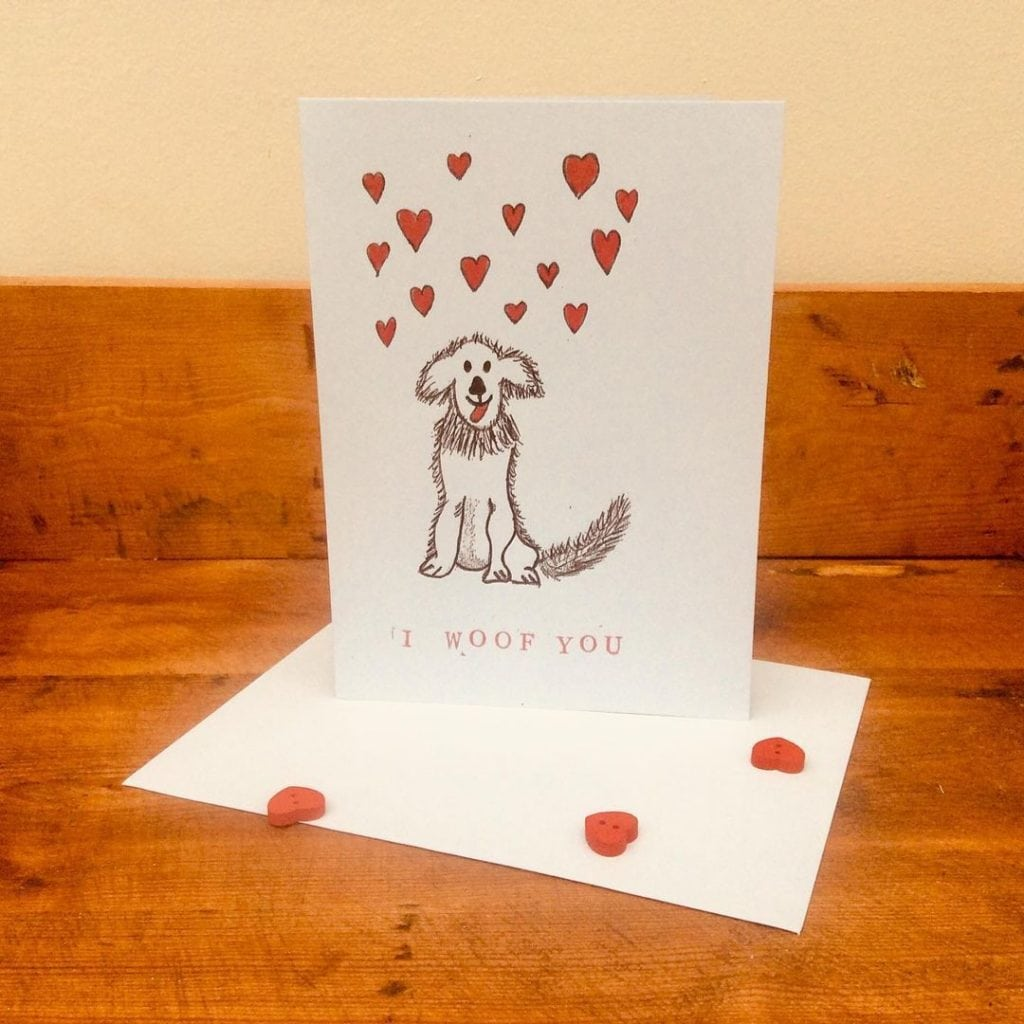 Funny Valentine Day Handmade Cards for Him