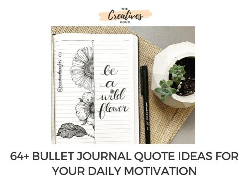 Bullet Journal Quote Thumbnail