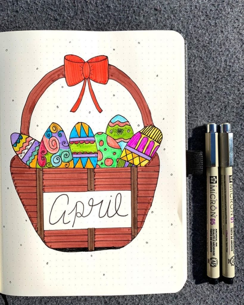Easter Theme Cover Pages