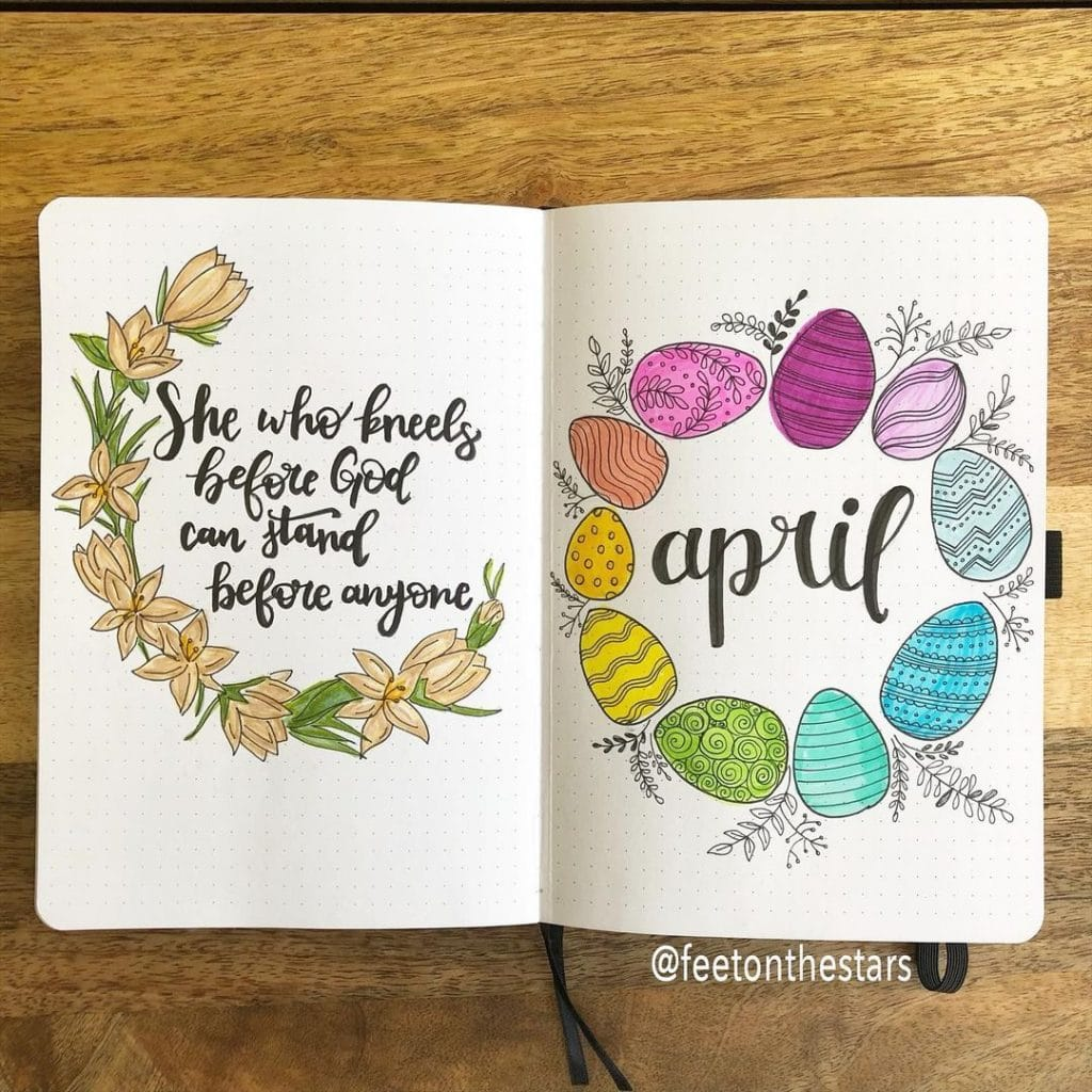 Easter Theme Cover Pages 2