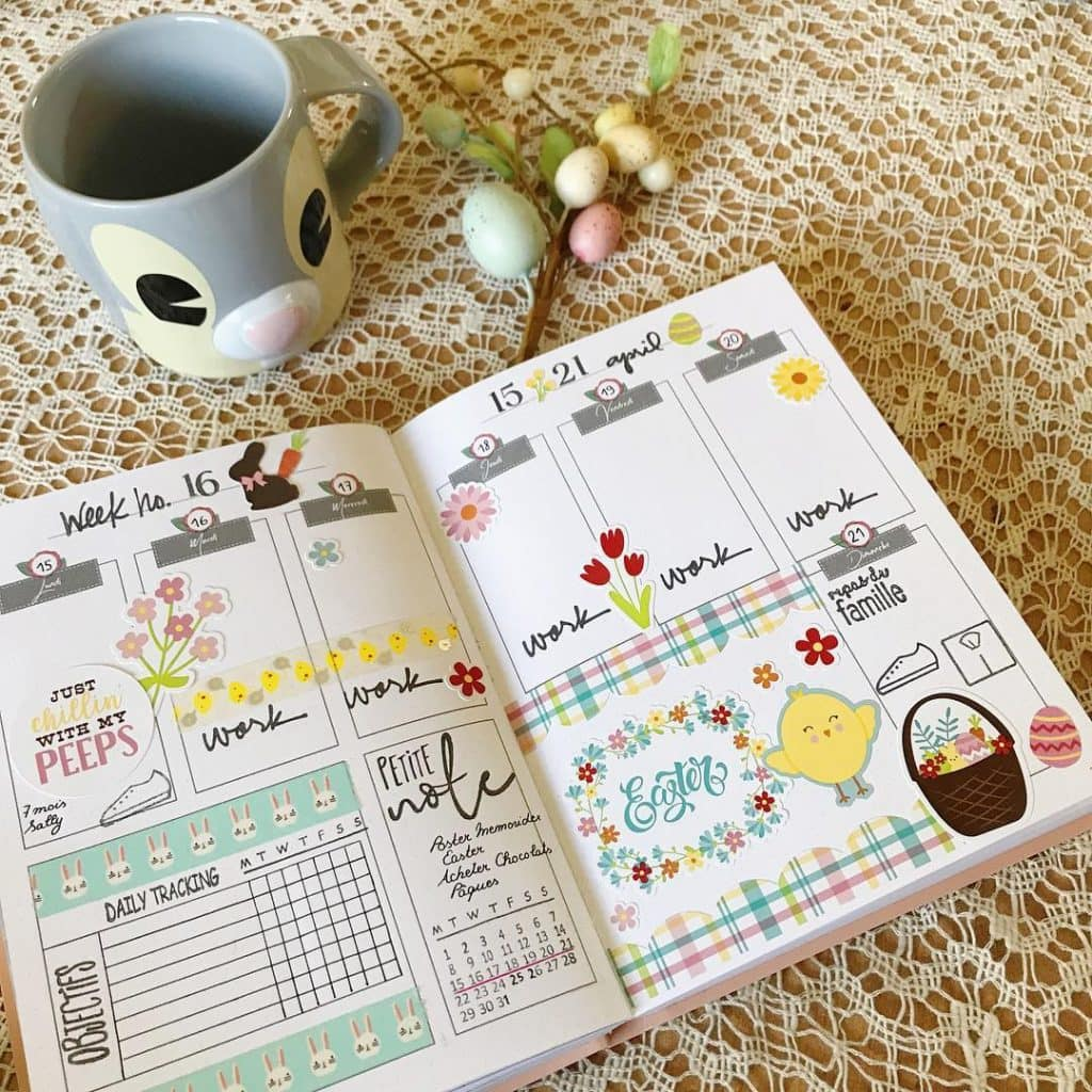 WeeklyTheme Easter Bullet Journal