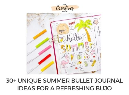 summer bullet journal thumbnail