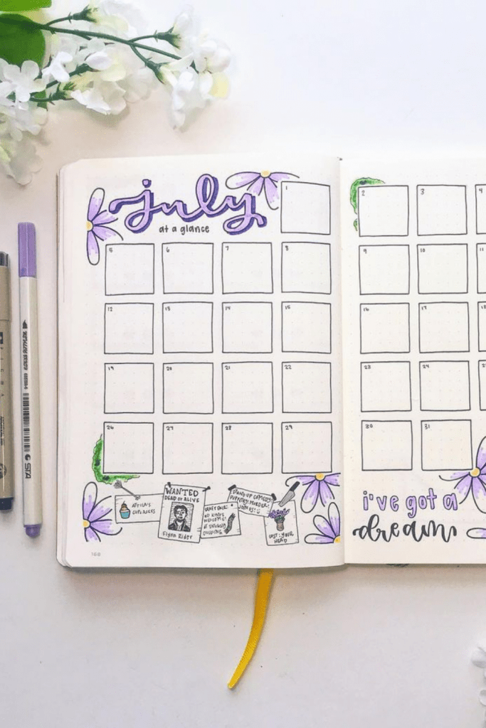July Monthly Spreads