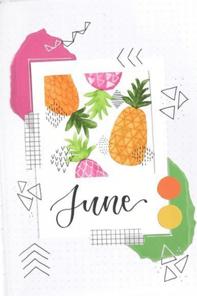 Pantone Theme June Monthly Cover