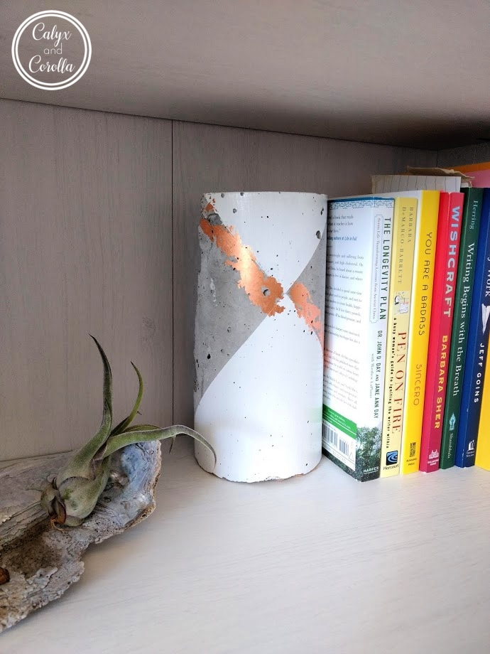 DIY Colourful Bookends