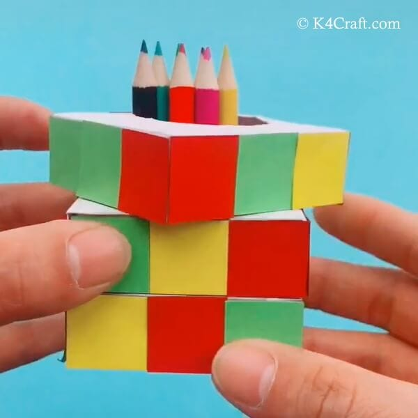 cube-pen-stand-craft-for-kids