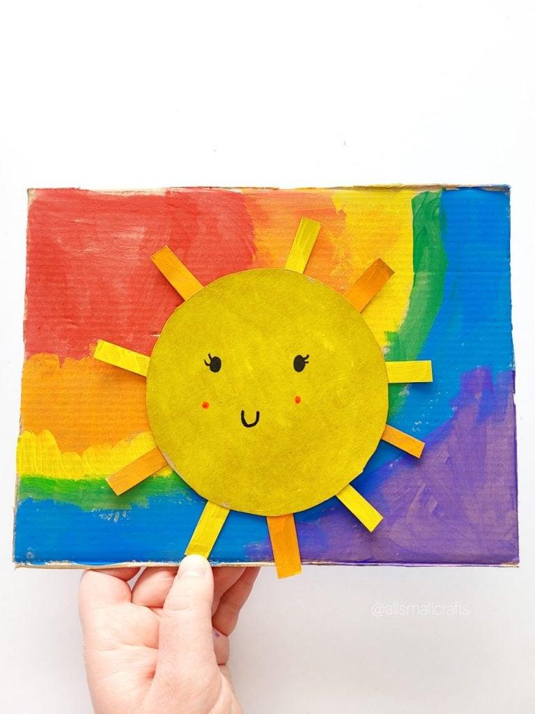 Rainbow & Sunshine Crafts