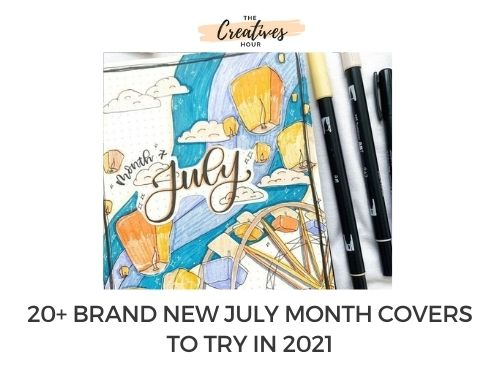 july month covers