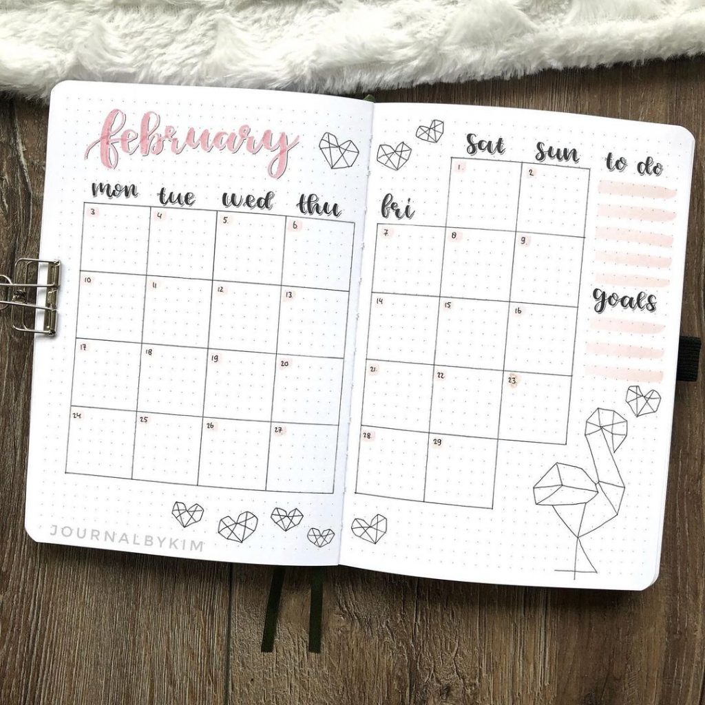February Monthly Spread 1