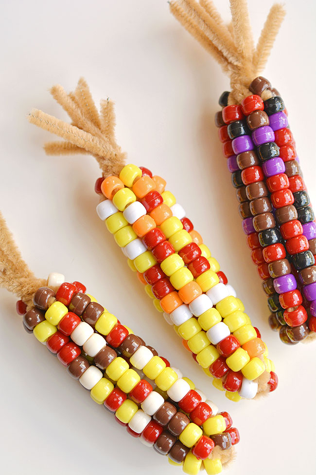 Corn Style Fall Crafts For Kids